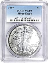 1997 American Silver Eagle ASE $1 MS-69 PCGS