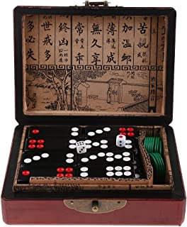 Chinese Pai Gow Paigow Tiles Set Casino Domino Games for Gambling Lovers Toy