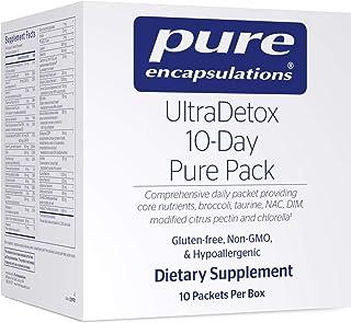 Pure Encapsulations - UltraDetox 10-Day Pure Pack Providing Core Nutrients, Broccoli, Taurine, NAC, DIM, Modified Citrus P...