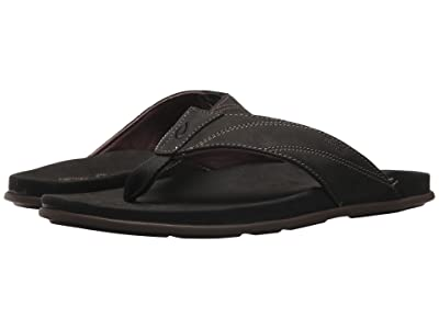 OluKai Pikoi (Black/Black) Men