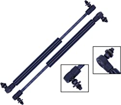 2 Pieces (SET) Tuff Support Trunk Lid Lift Supports 2001 To 2005 Mitsubishi Eclipse Convertible Only With Spoiler