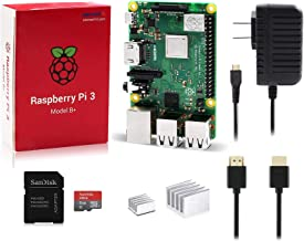 LoveRPi Raspberry Pi 3 Model B+ 8GB Plug and Play Starter Kit