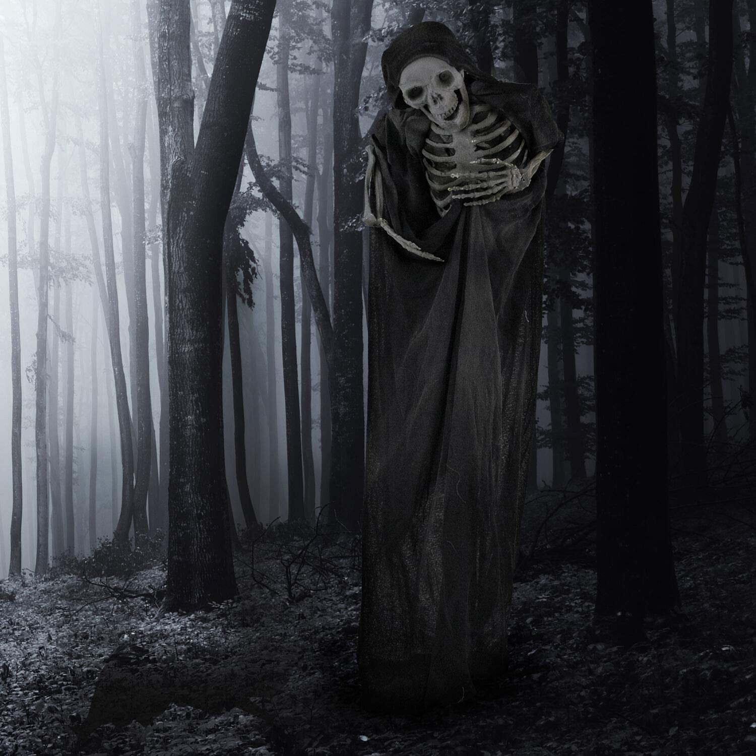 Haunted Hill specialty shop Farm HHSKEL-4FLSA Life-Size Ind Max 80% OFF Animatronic Reaper