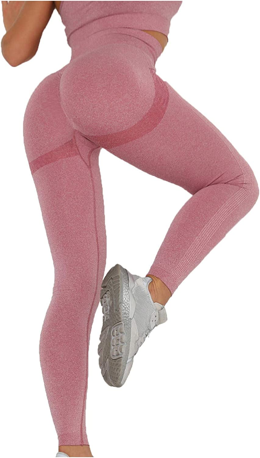 Women's free shipping Seamless Leggings National products High Waist Contour Butt Smile Workout