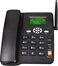 $88 » Handset Landline Telephone, Dual SIM Wireless GSM Speakerphone, External Antenna, with Display Bright Adjustment, Speed Di...