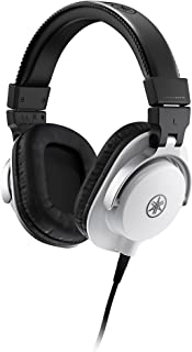 Yamaha HPH-MT5 Monitor Headphones, White, (HPH-MT5W)