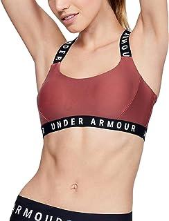 Under Armour UA Womens Wordmark Strappy Gym Sports Bra