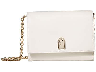 Furla 1927 Mini Crossbody 18 (Talco) Handbags