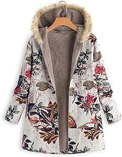 Otoño e Invierno Tamaño Grande Color Sólido Mantener Caliente Más Cachemira Abrigo Mujer Cárdigans Sudadera Señoras Chaque...