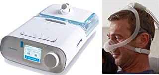 Bundle_Deal: PR_DreamStation_Auto_C.P.A.P_Machine-with_Heated_Humidifier-(DSX500H11)-and_DreamWisp_Nasal_Mask_Fit-Pack-(1137916)_