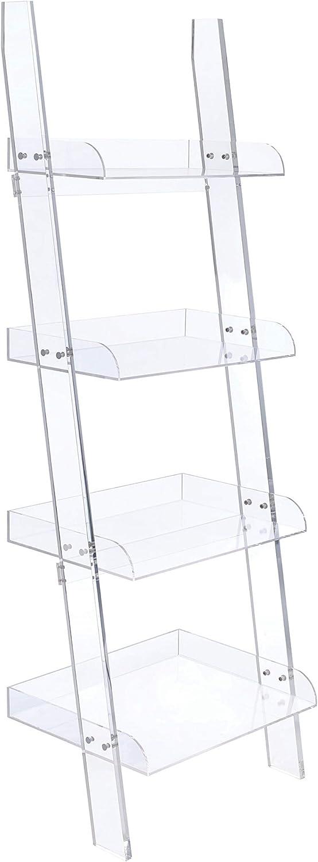 Coaster CO-801553 Bookcase Acrylic Clear 期間限定で特別価格 オリジナル