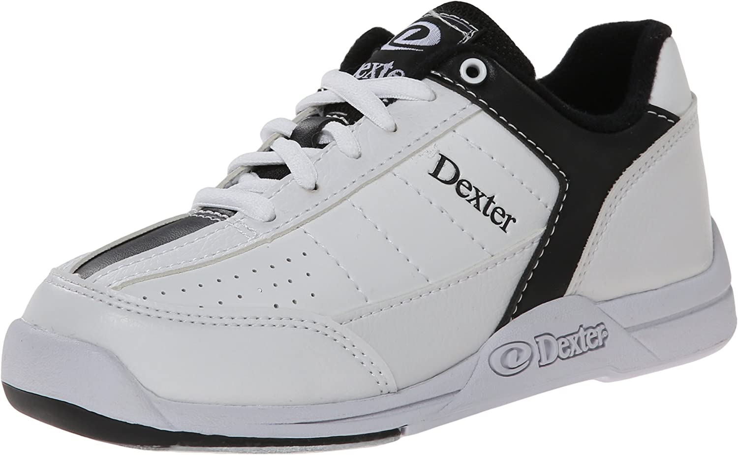 Dexter Kid's Ricky III Bowling shoes, White Black