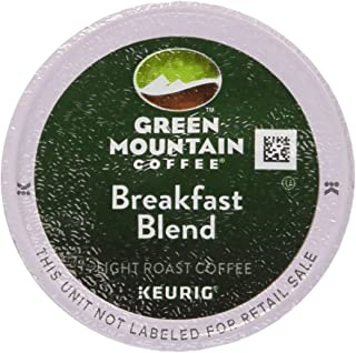Keurig, Green Mountain Coffee, Breakfast Blend(melange), K-Cup Counts, 50 Count