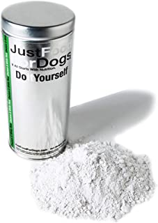 JustFoodForDogs DIY Human Grade Dog Food Nutrient Blends - Do-It-Yourself Easy Recipe Base Mix for Healthy, Homemade Food for Dogs