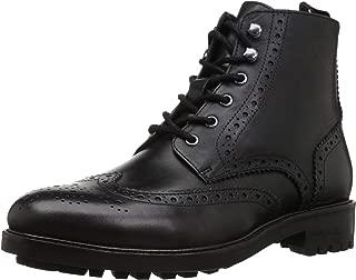 Kenneth Cole New York Men's MARAQ Lug Boot Fashion, Black, 11 M US