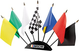 BSI NASCAR Unisex 7-Piece Race Flag Set