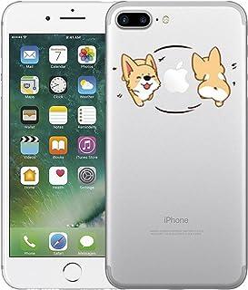 8dfe12631f8 Caler iPhone 7 Plus Funda,iPhone 8 Plus Funda, Carcasa Case TPU Gel  Transparente