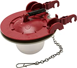 Fluidmaster 5403 3-Inch Universal Water Saving Long Life Toilet Flapper, Adjustable Solid..