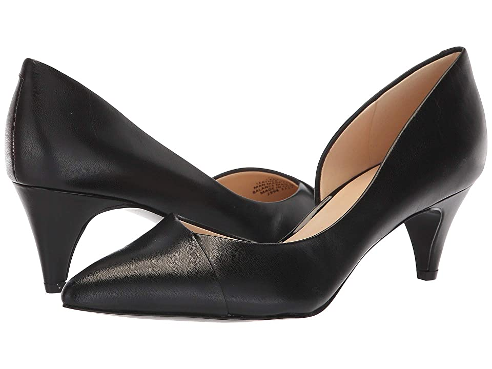 Nine West Carao (Black Leather) Women