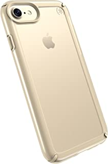 Speck Products Presidio SHOW Cell Phone Case for iPhone 7/6S/6 - Clear/Pale Yellow Gold