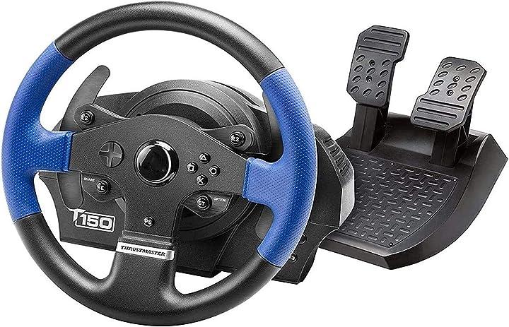 Volante per pc gioco t150 rs racing wheel per playstation4, playstation3 e pc qdy B08ZJ15TKK