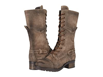 Taos Footwear Tall Crave (Smoke Rugged) Women