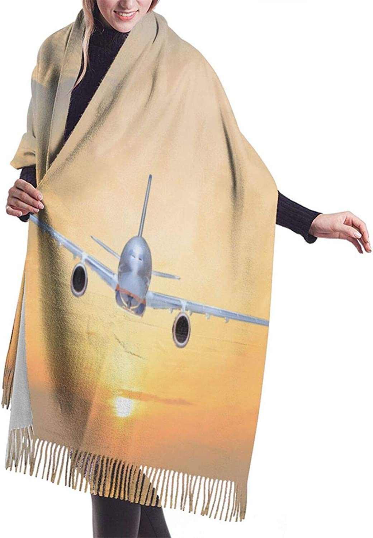 2nd Amendment Brand Vintage American Flag Ladies Cashmere Fringed Scarf Shawl Winter Thick Warm Scarves
