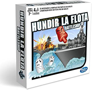 Hasbro Gaming- Hasbro Hundir La Flota, Juego de Tablero,