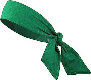Kenz Laurenz Headbands Tie on Headband for Women Men Running Athletic Hair Head  Band Elastic Sports 640ce9f9b96