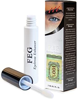 طول رشد ابرو FEG ابرو FEG طول ضخامت سرم تقویت کننده 100٪ طبیعی