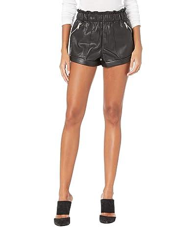 Blank NYC Elastic Waist Shorts w/ Patch Pockets (Maleficent) Women