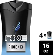 AXE  Phoenix Body Wash for Men 16 Fl Oz (Pack of 4)
