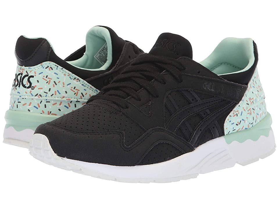 ASICS Kids Gel-Lyte V (Big Kid) (Black/Black) Kids Shoes