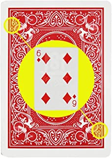 WSNMING Marked Stripper Deck Playing Cards Poker Magic Tricks Props Close Up Street Illusion Mentalism Gimmick