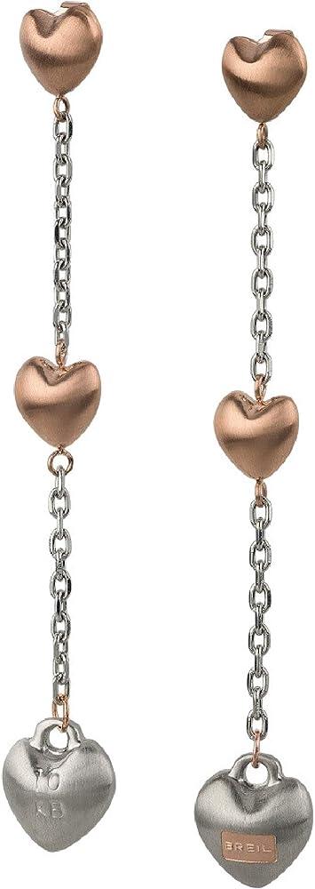 Breil orecchini per donna collezione kilos of love TJ2731