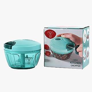 Premium Vegetable Chopper Slicer Powerful Easy Pull Vegetable Cutter Hand Held Processor/Blender for Onion Tomato All Vegg...