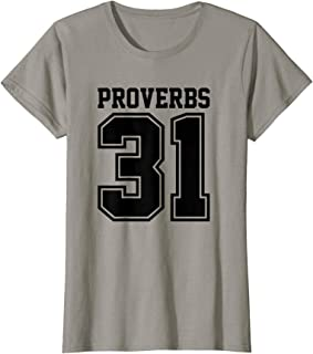 Womens Proverbs 31 Blessed Women and Wife Christian T-Shirt