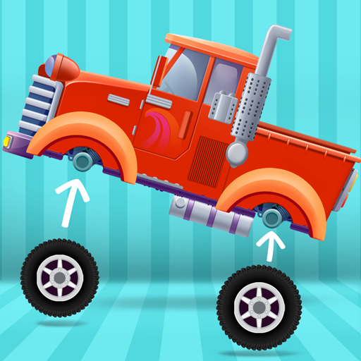 Truck Builder - Tractor, Fire Truck and Monster Truck Simulator Games for Kids