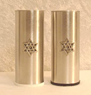 star of david salt and pepper shakers