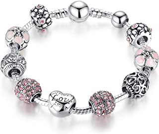 Pandora Element DIY Charm Beads Bracelet Love Fashion Gift
