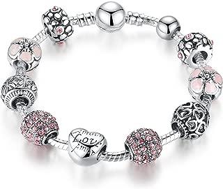 Pandora Element DIY Charm Beads Bracelet Love Fashion Gift