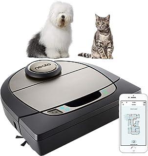 Neato Robotics D750, Cleaner Premium Pack, Corner Cleaning Robot Vacuum with D-Shape + Exclusive Pet Accessories for Carpe...