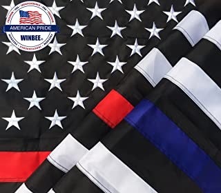free thin red line flag