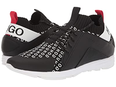 BOSS Hugo Boss Hybrid Runn Sneakers by HUGO (Black) Men