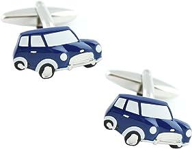 MasGemelos - Gemelos Mini Cooper Azul Marino Cufflinks