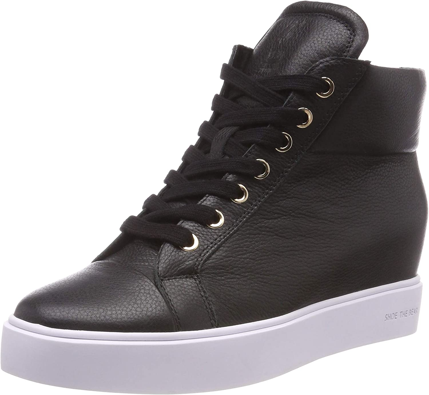 SHOE THE BEAR Women's Ava High Top in Black