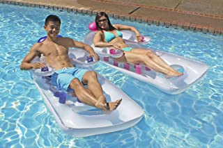 Poolmaster French Classic Pool Lounger (Available in Blue or Pink)
