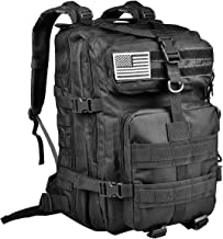 CVLIFE 40L Military Tactical Backpack 3 Day Assault Pack Army Rucksack Molle Bag