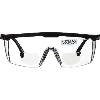Bifocal Schutzbrille, Sehstärke + 2,5 |