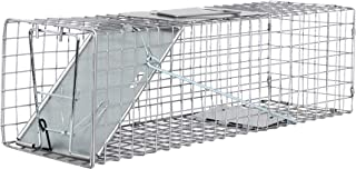 Medium One Door Catch Release Heavy Duty Cage Live Animal Trap for Rats, Rabbits, Skunks, Squirrels, and Other Similar Sized Animals, 24